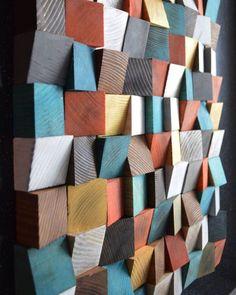 "design dunker (@designdunker) posted on Instagram: ""Geometric wood art by @richwoodart_studio #wood #woods #woodart #woodwork #woodworking #woodcarving #geometric #pattern #wallart #design…"" • Aug 28, 2019 at 4:29pm UTC Parametric Design, Dezeen, Wood Art, Woodworking, House Design, Studio, Quilts, Blanket, Interior Design"