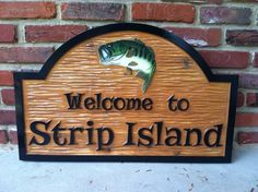 The Carving Company | Full Service Custom Carved Sign Shop | Wood Carved Camp Sign / Lake Sign (C3)