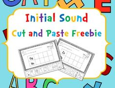 Here are 9 cut and paste initial sound sort worksheets.  Letters are grouped according to kindergarten ELA common core curriculum available on engageny.org  I hope you enjoy this product!  Feedback is welcome!!  Judy 