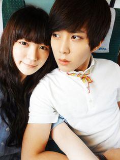 ulzzang and ryu hye ju afbeelding
