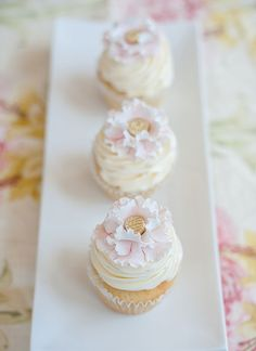 Amazing Frilly Pink Flower Cupcakes