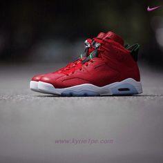 premium selection 1e608 4af59 AIR JORDAN 6 RETRO 694091-625 History of Jordan Rosso Bianco · Air Max  SneakersSneakers NikeBasketsDiscount Shoes OnlineRetroNike BasketballCherAir  Jordans ...