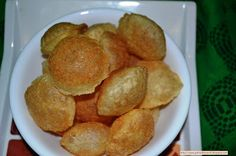 For Food Lovers: Puri for paani Puri Ingredients: ½ cup semolina ¼ cup all-purpose flour 2 pinch baking soda 1 tsp oil ¼ tsp Salt (adjust to taste) Water as needed Oil for deep frying