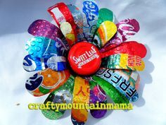You Plant It Colorful Soda Can Flower Super by craftymountainmama, $15.00