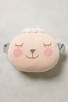 adorable lady lamb pillow  http://rstyle.me/n/uzxpwpdpe