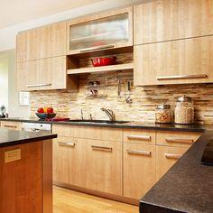 Kitchen Backsplash Tile - A Classic One :Great Gone Wild Marble Backspalsh Kitchen Backsplash Tile Design