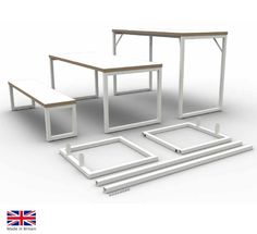 The Axiom 2 Bench Table & Seating range consists of KD bench tables and seating with clean lines and hard wearing finish, ideal for breakout and dining areas in commercial or educational environments.The table and bench seats are supplied Knock Down for ease of installation and transportation. Dining Area, Dining Tables, Table Seating, Clean Lines, Office Furniture, Top Colour, Bench, Range, Campers