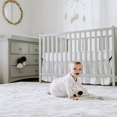 The Nursery Must-Haves That Are Worth The Splurge – Inspired By This - Modern Precious Book, Baby Jeans, Baby Checklist, Chic Nursery, Time In The World, Baby Must Haves, Baby Coming, Crib Mattress, Sit Back