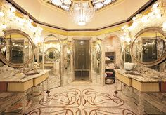 Victor Horta Bathroom
