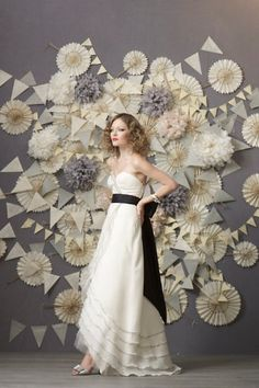 I like all of this Tiered Tulip Gown
