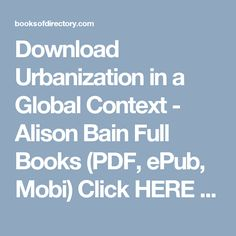 Download baking and pastry mastering the art and craft 3rd edition download urbanization in a global context alison bain full books pdf epub fandeluxe Gallery