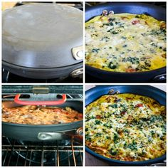 Greek Frittata with Zucchini, Tomato, Feta, and Herbs (Low-Carb ...