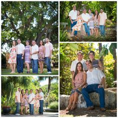 Miami Beach Botanical Gardens - Miami Studio and Location Portrait photographer - Family Portraits with lush tropical background with Oriental decoration #familyportrait #miamiphotographer #miamifamilyportraits