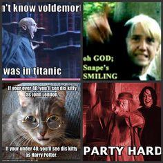 party hard Professor Dumbledore!