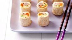 Mini Sándwich De Atún Y Aguacate Con Todo El Estilo Japoné
