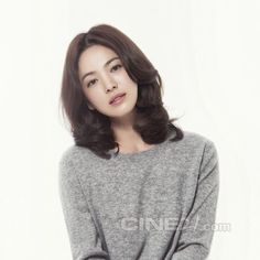 Go here and here for previously released images of Kang Dong Won and Song Hye Kyo from Vogue Korea's September 2014 edition, and check out their spreads for Issue No. Cute Beauty, My Beauty, Beauty Makeup, Hair Makeup, Lorraine, Song Hye Kyo Style, Song Hye Kyo Hair, Korean Beauty, Asian Beauty