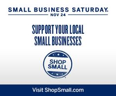 "Where will you ""buy small"" on Small Business Saturday?"