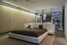 bedroom - Zen Master Suite With Outdoor Views Either End by Minosa