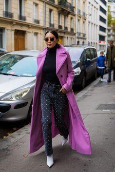 Paris Fashion Week Street Style Spring 2018 | POPSUGAR Fashion