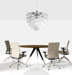 Table Madison# design by jmm#www.jmm.es#meeting table#modern design