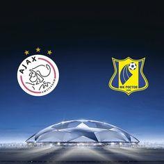 Ajax - FK Rostov 1 -1, eerste playoff-ronde Champions League, 16 augustus 2016, ArenA Amsterdam