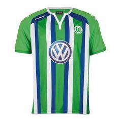 maillot Wolfsburg 2015 2016 exterieur