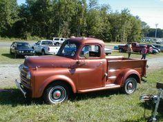 antique pickup trucks | 50 Dodge Pickup Truck - CLASSIC CARS FOR SALE