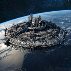 This isnt bad for Cappa Base Though Cappas not as uniform or pretty Cappa Base wasnt built all at once It was added onto as needed Spaceship Art, Spaceship Design, Space Fantasy, Fantasy World, Rpg Star Wars, Sci Fi City, Starship Concept, Sci Fi Spaceships, Sci Fi Ships