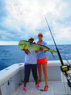 Bright day of catchin'! Fishing with Panoply Sport Fishing & Charters, Turks and Caicos. www.panoply.tc