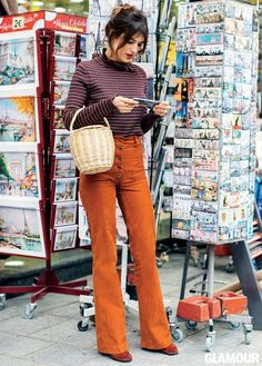 This French Girl Has the Easiest Outfit Tip for Looking Taller