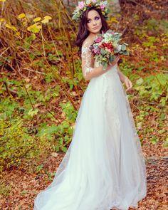 Wedding flowers bride Flower crown