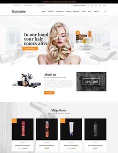 Barber Hair Salon WordPress Theme