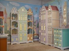 Kids Room Furniture, Painted Furniture, Style Deco, Toy Rooms, Kids Room Design, Little Girl Rooms, Baby Room Decor, Kid Spaces, Kids Decor
