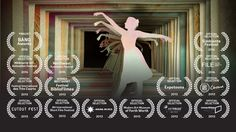 """The short film """"The Me Bird"""" is a free interpretation of the homonym poem by Pablo Neruda. The inspiration in the strata stencil technique helps conceptualize the repetition of layers as the past of our movements and actions. The frames depicted as jail and the past as a burden serve as the background for the story of a ballerina on a journey towards freedom."""