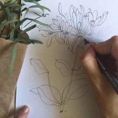 доброе утро со вторым цветком для магалока женского белья. всего будет три цветка - и этот уже мой любимый. кстати, кто знает, что это за цветок? #litsarkisian_video
