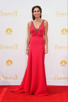 Minnie Driver in Marchesa http://fashionallovertheplace.blogspot.it/2014/08/66th-emmy-awards-best-dressed.html