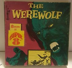 The werewolf super 8mm hf6 columbia 5inch reel rare!! Halloween fun! Vtg
