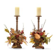 Set of Two Westfield Candlesticks