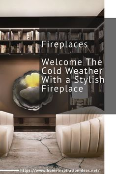 Fireplaces and firepits are the perfect choices in the war against the cold winter weather! They come in all shapes and sizes and can fit in every home division if you are creative enough!