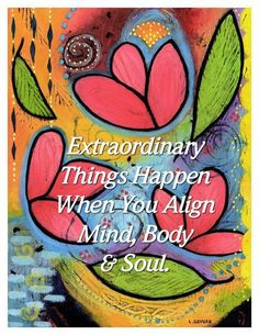Sexual Attraction - Extraordinary things happen when you align mind, body soul. - 3 Easy Techniques To Create Sexual Attraction… Body And Soul, Mind Body Soul, Chakras Reiki, Sup Yoga, Bikram Yoga, Inspirational Quotes Pictures, Uplifting Quotes, Inspirational Thoughts, Positive Thoughts