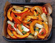 Тыква запеченная в духовке — пошаговые рецепты с фото