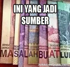 Ini Yang Jadi Sumber Masalah Lu :'v Quotes Lucu, Jokes Quotes, Dankest Memes, Me Quotes, K Pop, All Meme, Cartoon Jokes, Self Reminder, Quotes Indonesia