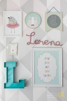 Coisas da Doris no quarto da Lorena, conheça esse ambiente projetado pelo Studio Melo Arquitetura, um ambiente digno do Pinterest! Baby Bedroom, Nursery Room, Girls Bedroom, Nursery Decor, Bedroom Decor, Baby Decor, Kids Decor, Home Decor, Montessori Bedroom