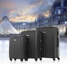 TOMSHOO 3 Piece Luggage Set | TomTop - tomtop.com