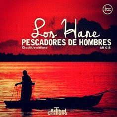 http://bible.com/149/mat.4.18-19.RVR1960 Andando Jesús junto al mar de Galilea, vio a dos hermanos, Simón, llamado Pedro, y Andrés su hermano, que echaban la red en el mar; porque eran pescadores. Y les dijo: Venid en pos de mí, y os haré pescadores de hombres.
