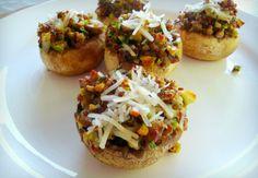 Good Dinner Mom | Stuffed Mushrooms with Quinoa - Good Dinner Mom