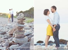 Love the Odiorne Point State Park in Rye, NH along the seacoast for natural and rustic engagement photography sessions... it's the best place for rocky beaches, open fields, and woodsy areas!