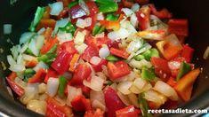 PISTO DE VERDURAS - Recetas a dieta Salsa, Mexican, Ethnic Recipes, Food, Onion, Entrees, Healthy Recipes, Diet, Deserts