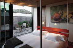 We're sharing a glimpse into Casa #JoseIgnacio at #PlayaVik with art by Clever Lara!  #VIkRetreats #art #design