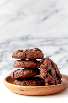 Gluten free chocolate cookies with almond meal